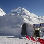 Iglu-Dorf Davos Foto