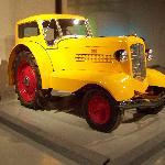 comfort tractor in vehicle display