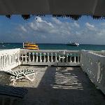 View from balcony door