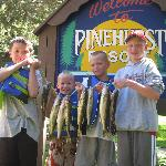 The boys w/ fish