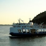 Ferry Passing in Opposite Direction