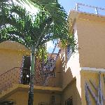 Looking to Room #1 and the sundeck Casa de Amistad