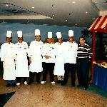 Chefs in the Palmira Restaurant