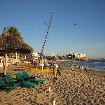Beach at Playa Mazatlan Hotel