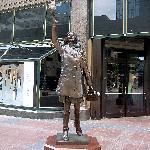 MTM Statue