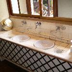 館内の手洗い場