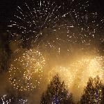 Fireworks on New Years Eve (Hogmanay)