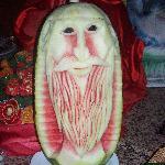 Watermelon in Main restaurant