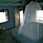 Blue Cottage interior