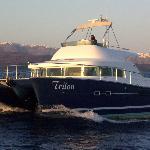 Santorini Sailing Triton Catamaran