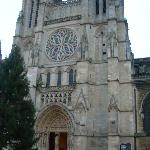 Facade of St. Andre in Bordeaux