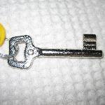 Old-fashioned keys