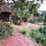 Accommodation is secluded and private with stunning views