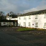 Premier Inn Twigworth (rhs) and part of 'The Oakwood' pub (lhs)