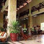 The lobby of the Grand Mirage