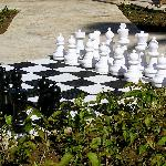 Chess in Pool Area