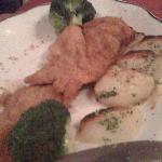 Wiener Schnitzel (partial eaten)