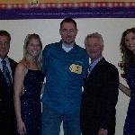 The Price is Right crew and my husband