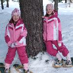 Snowshoeing on Christmas Day