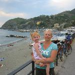 Levanto beach and my little red-head