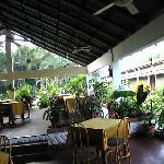 restaurant / lobby area