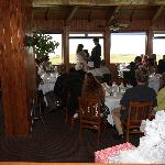 The pacific room, good ole oregon weather forced our ceremony indoors