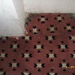 Room: Dirty carpet