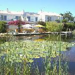 Pool und Haus