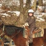 Nina on horse