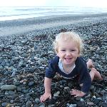 Our son at the beach!