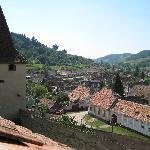 Village enroute to Sighisoara