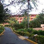 Main building....