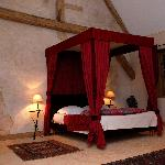 Our Bedroom at Chateau de Forges