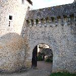 Entrance to another time, at Chateau do Forges