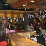 the lobby-bar, and the western restaurant on the right