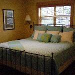 Bedroom in the One-bedroom Suite
