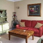 Goergian Suite - Living Room