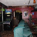 back bar @ Shamrock's