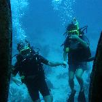 My first wreck dive as a new Open Water Diver