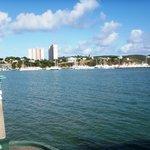 Fajardo visto desde el Ferry