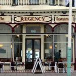 Regency Restaurant, right on Brighton's front