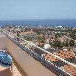 balcony...fantastic views