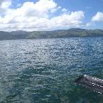 Kayaking Nearby on Lake Arenal