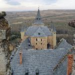 Segovia Alcazar - view from atop the tower