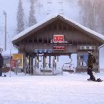The front-side chair-lift on a chilly day in January.