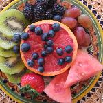 Gorgeous fruit plate