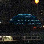 Basketball Hall of Fame: view from Hilton Garden Inn