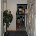 corridor leading to kitchen