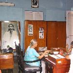Pondicherry - un ufficio dell'ashram