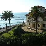 view from balcony towards Cascais